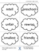 Affixes Tree Building and Breaking Apart Words to Root, Prefix or Suffix