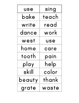 Affixes and Root Words Sort