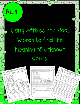 Affixes and Root Words to find unknown words