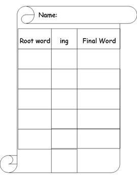 Affixes: prefix, suffix