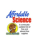 Affordable Science: Master List of Free and Low-Cost Supplies