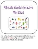 Affricate Blends Interactive Sort (dr, tr, ch, j)