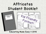 Affricate Booklet: Perfect for Stations!