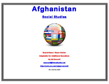 Afghanistan Board Game