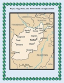Afghanistan Geography Maps, Flag, Data, Assessment - Map Skills Data Analysis
