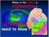 Afghanistan Map: Where is Afghanistan ?