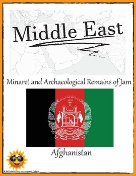 (Middle East GEOGRAPHY) Afghanistan: Minaret and Archaeological Remains
