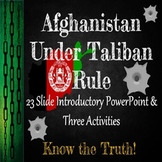 Afghanistan: The Rise of A Conflicted Nation: Introduction & Activity