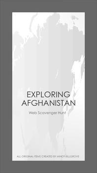 Afghanistan Web Scavenger Hunt