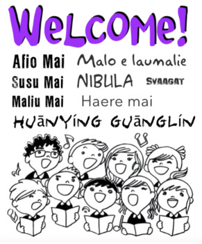 Afio Mai - Multicultural Welcome Song