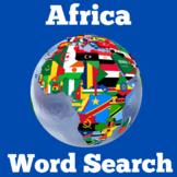 Africa | Worksheet Activity | Kindergarten 1st 2nd 3rd 4th