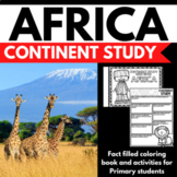 Africa Country Study Mini Booklet Unit Project