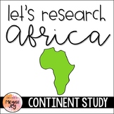 Africa Continent Research Packet