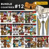 Africa #4 Countries Clip Art Bundle - PART 12