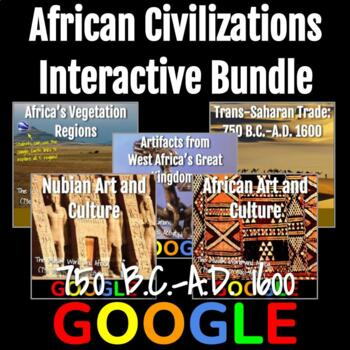 Africa (750 B.C - A.D. 1500) Interactive Bundle