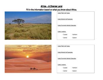 Africa: A Diverse Land