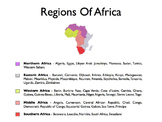 Africa - A World Region PowerPoint