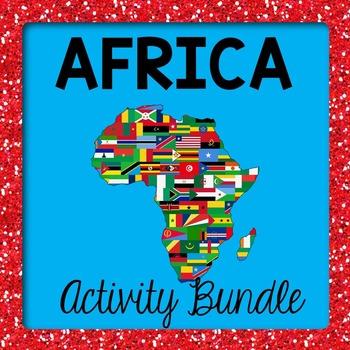 Africa Activity Bundle SAVE!!!
