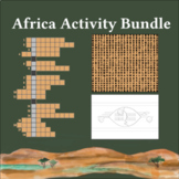 Africa Activity Bundle: Crosswords   Word Searches   Coloring
