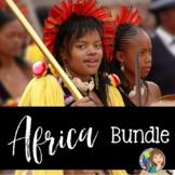 Africa Activity Bundle including Google Resources