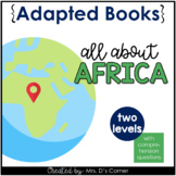 Africa Adapted Books [ Level 1 and Level 2 ]   Earth's Con