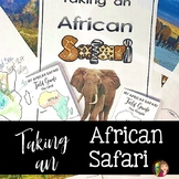 Africa Safari Activity and Writing