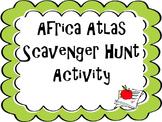 Africa Atlas Scavenger Hunt
