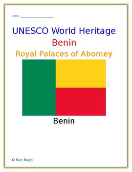 (Africa Geography) Benin: Royal Palaces of Abomey—Research Guide