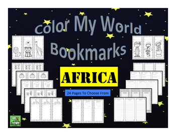 Africa Bookmarks