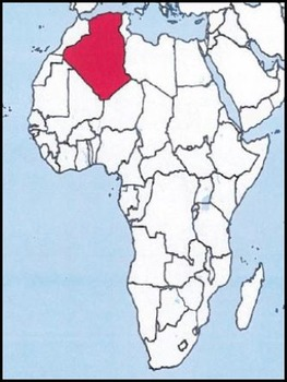 Africa Bundle: Latitude & Longitude, Flash Cards, & Country Identification Quiz
