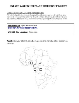 (Africa Geography) Cameroon: Dja Faunal Reserve—Research Guide