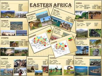 Africa Countries PowerPoint Presentation Nile River distance learning
