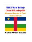 (Africa Geography)Central African Republic:Manovo-Gounda St Floris National Park