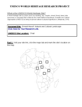 Africa: Chad- Ennedi Massif: Natural and Cultural Landscape Research Guide