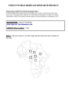 Africa: Chad- Lakes of Ounianga Research Guide