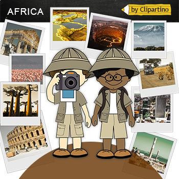 Africa Clipart-Top 19 Tourist Places