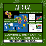 Africa - Continent, Countries, their Flags and their Capit