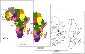 Africa Control Maps and Masters