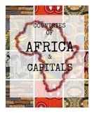 Africa- Countries and Capitals - Flashcards