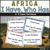Africa Geography Activity