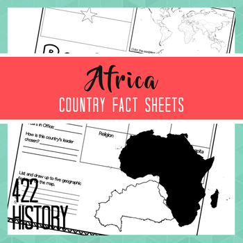 Africa Country Fact Sheets