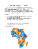 Africa Country Project
