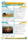 Africa - ESL Speaking Activity
