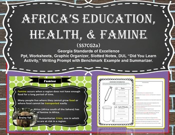 Africa: Education, Health, and Famine