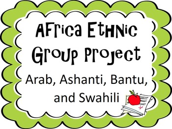 Africa Ethnic Group Project