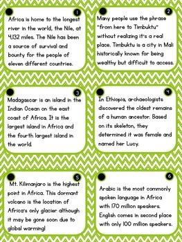 Africa Fact Fluency