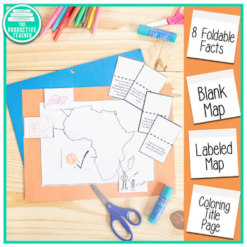 Africa Facts Lapbook