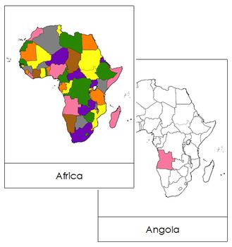 Africa Flashcards