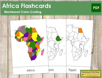 Africa Flash Cards