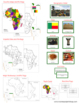 Africa Geography Deluxe Bundle - Color Borders
